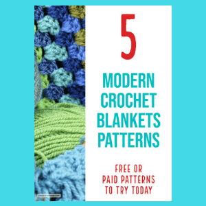 5 Best Modern Crochet Blanket Patterns (Includes beginners patterns)