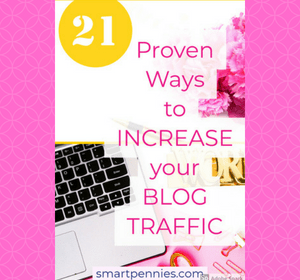 Looking for ways to improve your Traffic to your blog? How about trying any one of the 21 FREE tips in this post today.