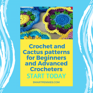 Crochet Flower and Cactus Patterns