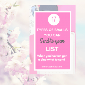 17 types of emails you can send your list