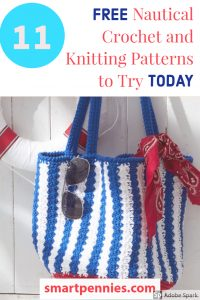 11 nautical inspired knitting and crochet design ideas