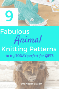 animal knitting pattern