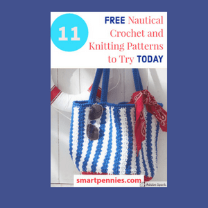 11 Nautical Inspired knitting and crochet design ideas