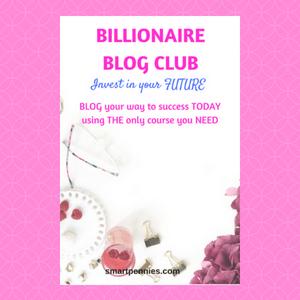 Billionare Blog Club: should you invest in your blogging future?