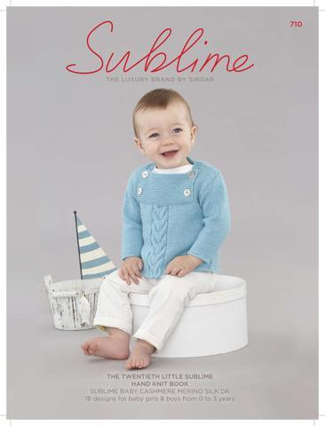Sublime knitting patterns for babies