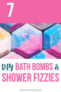 7 DIY Bath bombs and shower fizzes recipes to make help you relax and make you feel gorgeous in the bath or in the shower. See what you can make today suitable for complete beginners!