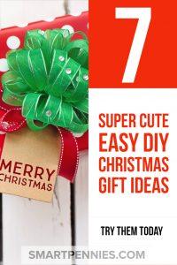 DIY Chritstmas gift ideas