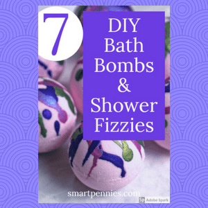 7 Fantastic Smelling Diy Bath Bombs Shower Fizzies Recipes