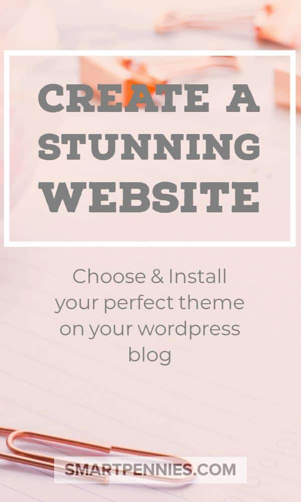 create a stunning website choose and install your perfect WordPress theme. How to choose the best WordPress theme and lots of other information on WordPress themes you don't want to miss.
