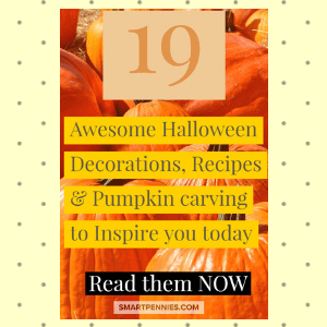 19 Awesome Halloween Decoration Recipes & Pumpkin carving to Inspire you today