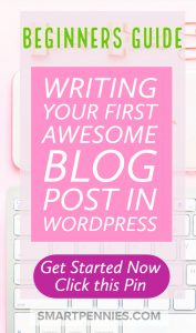 Beginners Easy guide to writing your First awesome post. Your WordPress blog is opened but you are not sure what you should be writing about then this post will guide to writing your First awesome post