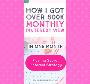 The exact Pinterest Strategy I used to get 600k monthly views ( in ONE month)