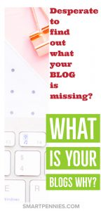 How to find your blog WHY. Give your blog a purpose and a mission statement. Included are examples of my blogs WHY. And some exciting news about the blog. So if you want to find out more about why you should have a blog WHY then check this post out.
