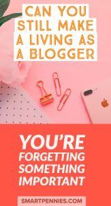 Why your blog isn't making money and what to do about it. Yes you can make money blogging - find out how you can quit your 9-5 job and make a living as a blogger.