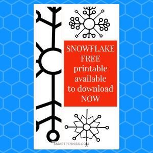 photograph regarding Snowflake Printable identify Totally free Snowflake Printable templates- create them significant or tiny