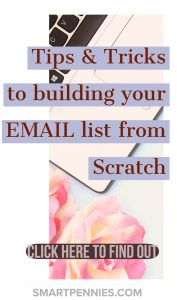 Are you looking for an Email List building Strategy. Confused about what you should be doing to build your Email list? Check out these proven tips to improving your email list building even if you are starting from scratch and a beginner. Its time to start building your massive email list now.