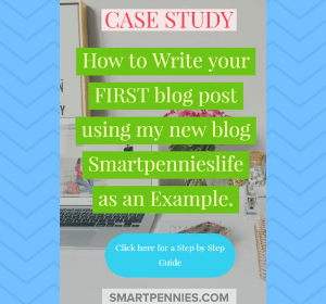 The Ultimate guide to Writing your First Awesome post: Example from my new BLOG