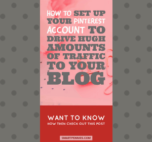 Setting up your Pinterest Account to drive traffic to your Website