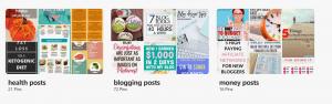 secret blog posts boards