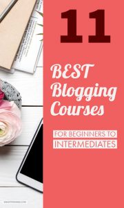 Stuck with which blogging courses to choose from here is a review of 11 top blogging courses you can take today. Includes free courses and courses under $50 find out which ones you should choose?