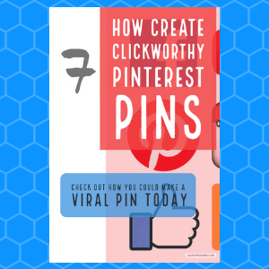 Learn how to increase your Pinterest views. Are you wanting to know how to create clickworthy pins that could go viral? Here are 7 tips to help you create great Pinterest Pins to drive amazing traffic to your website today.