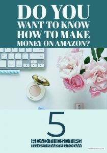 Are you wondering how to make money on Amazon? If you want to start making money today then you need to read this post for 5 tips to try. Making money tips include how to sell second-hand books which is one of the easiest and quickest ways to make quick cash today.