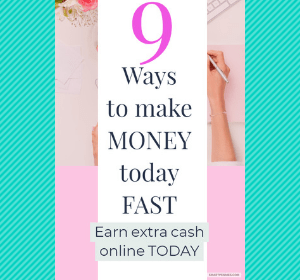 9 Fast ways to make money from home online