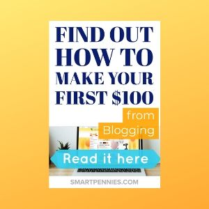 How I earned my first $100 blogging (How to make money blogging)