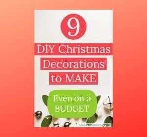 9 DIY home Decor for Christmas (Budget Ideas)