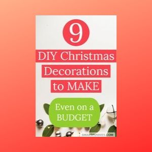 9 DIY Home Decor Ideas for Christmas (Budget Ideas)